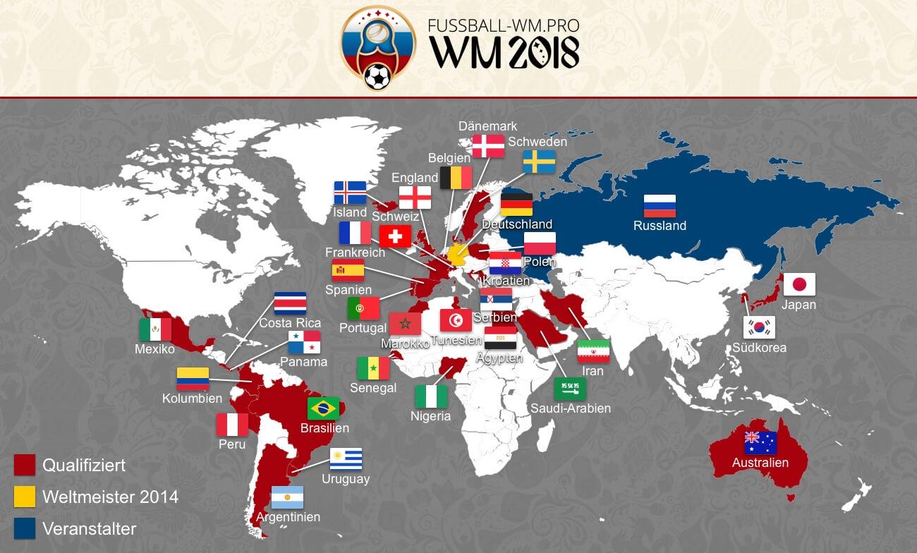 Welche Mannschaften Sind Bei Der Wm 2021 Dabei